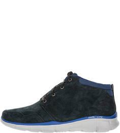 Замшевые ботинки на шнуровке Skechers