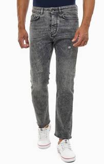 Зауженные джинсы с застежкой на болты Teo Gas