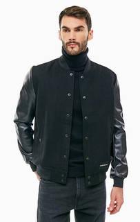 Черная куртка-бомбер Calvin Klein Jeans
