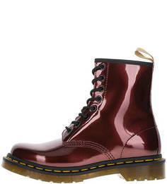Высокие демисезонные ботинки на шнуровке Dr. Martens
