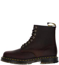 Высокие демисезонные ботинки коричневого цвета Dr. Martens
