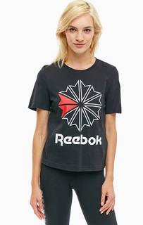 Хлопковая футболка с круглым вырезом Reebok Classic