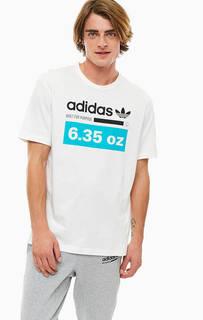 Хлопковая футболка с короткими рукавами Adidas Originals