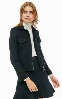 Черная куртка с карманами Armani Exchange