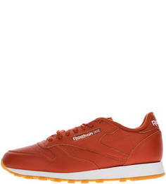Кожаные кроссовки на шнуровке Cl Leather Mu Reebok Classic