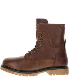 Высокие ботинки из натуральной кожи Wrangler