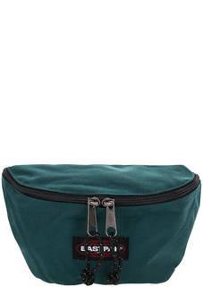 Поясная сумка бирюзового цвета из текстиля Eastpak