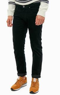 Вельветовые черные брюки Lee