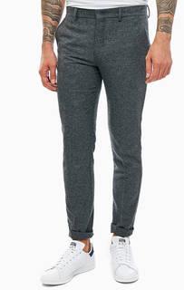 Серые трикотажные брюки Jack & Jones