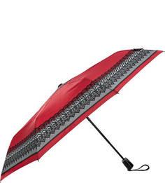Красный складной зонт со стальным стержнем Doppler