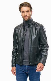 Кожаная куртка с карманами Strellson