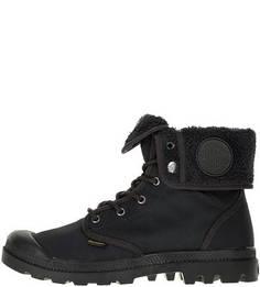 Текстильные ботинки с отворотом Palladium