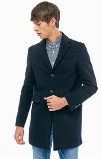 Шерстяное пальто с карманами Gant