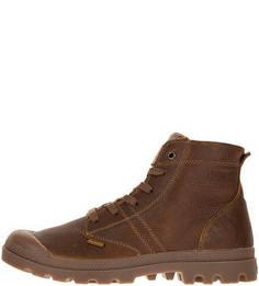 Кожаные ботинки коричневого цвета Palladium