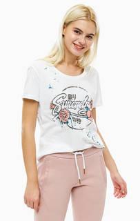Хлопковая футболка с ярким принтом Superdry