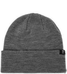 Серая трикотажная шапка мелкой вязки Tom Tailor Denim