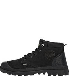Черные ботинки из нубука Palladium
