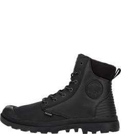 Непромокаемые ботинки черного цвета Palladium