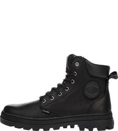 Черные ботинки из натуральной кожи Palladium