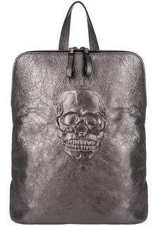 Сумка-рюкзак из натуральной кожи с одним отделом на молнии Io Pelle