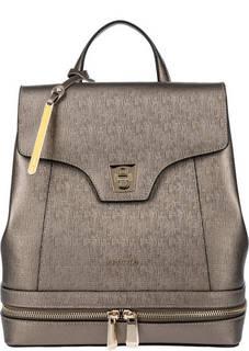 Рюкзак из сафьяновой кожи с откидным клапаном Cromia