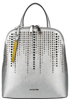 Кожаный рюкзак с металлическим декором Cromia