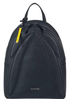Темно-синий рюкзак из сафьяновой кожи Cromia