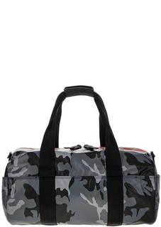 Спортивная сумка с камуфляжным принтом Diesel