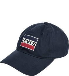 Хлопковая бейсболка с вышивкой Levis®