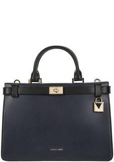 Кожаная сумка с двумя отделами Tatiana Michael Michael Kors