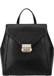 Рюкзак черного цвета из гладкой кожи Whitney Michael Michael Kors