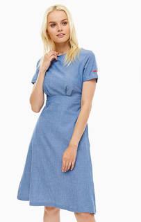 Хлопковое платье с расклешенной юбкой Sugarhill Boutique