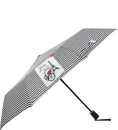 Складной зонт в полоску Doppler