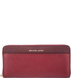 Кошелек из зерненой кожи Money Pieces Michael Michael Kors