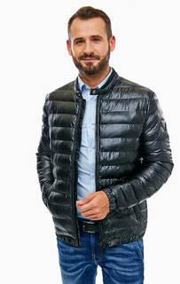 Демисезонная куртка с застежкой на молнию и кнопку Guess