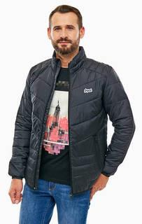 Демисезонная стеганая куртка на молнию Jack & Jones
