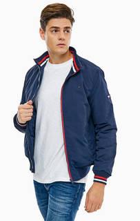 Синяя куртка на молнии Tommy Jeans