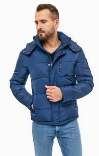 Синяя куртка со съемным капюшоном Wrangler