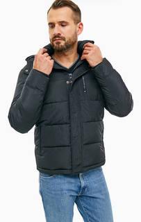 Черная куртка со съемным капюшоном Wrangler