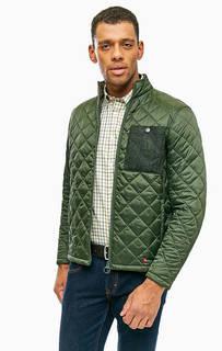 Демисезонная куртка с застежкой на молнию Barbour