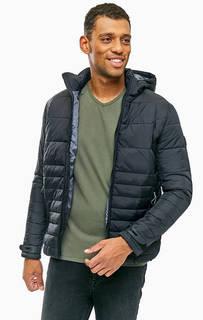 Черная куртка с капюшоном Mavi