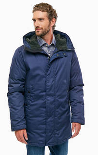 Синяя куртка с капюшоном G Star RAW