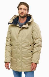 Бежевая куртка с капюшоном G Star RAW