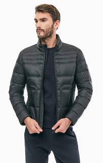 Черная куртка с высоким воротом Marc O'Polo Denim