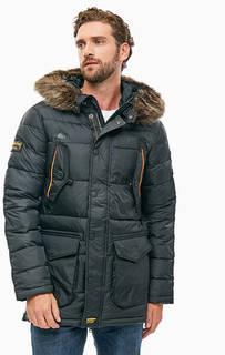 Куртка с карманами и капюшоном Superdry