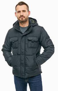 Черная куртка с карманами Jack & Jones