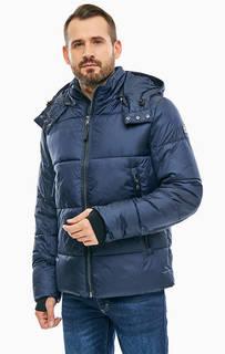 Синяя куртка с капюшоном Tom Tailor
