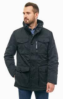 Черная куртка с карманами Tom Tailor