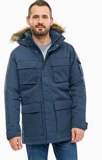 Синяя куртка Glacier Canyon Parka Jack Wolfskin