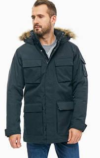 Черная куртка Glacier Canyon Parka Jack Wolfskin